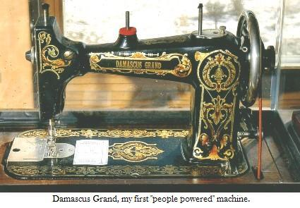 The NonElectric Sewing Machine People Powered Sewing Machines Not Interesting How Was The First Sewing Machine Made