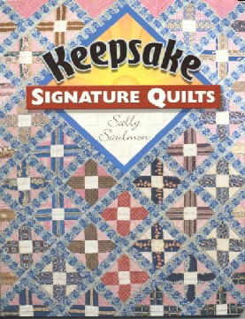 Signing and dating a quilt