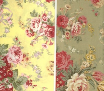 Antique French Fabric Reproductions For Quilters Promenade Ii