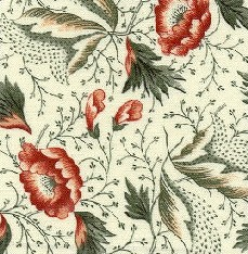 Tossed Leaf Is A Medium Scale All Over Floral Print With Delicate Details On The Ground And Leaves It Also Found In Pats Quilt Chintz Fabric